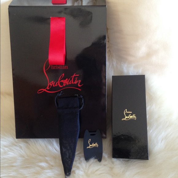 Authentic Christian Louboutin Box Bag Nwt